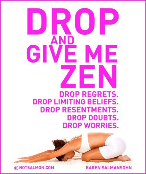 Drop give me zen