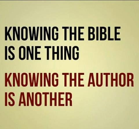 bible knowing