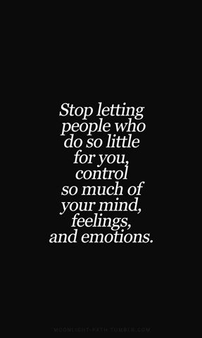 Controlling you