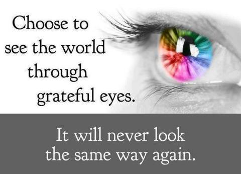 Gratitude Eyes