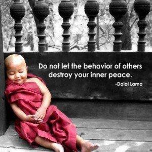inner peace maintenance