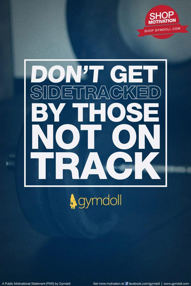 motivation on track