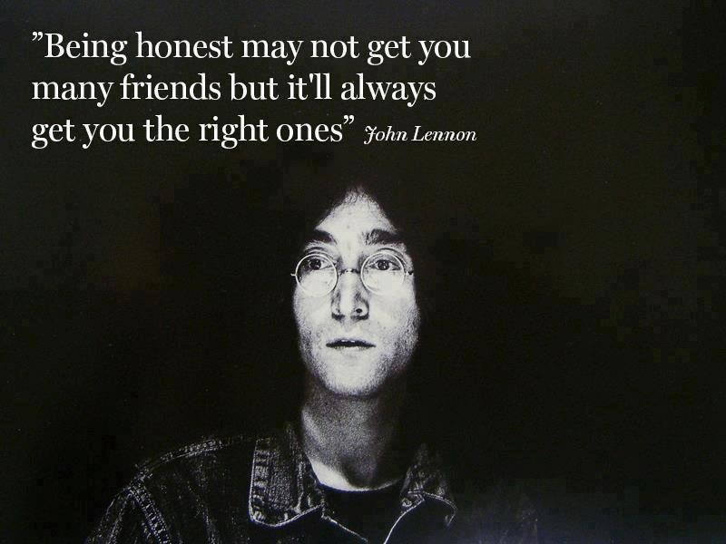 John Lennon on friends