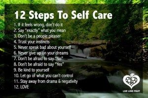 Self Care Steps