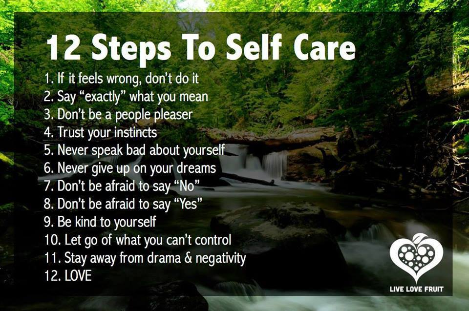 Self Care Steps
