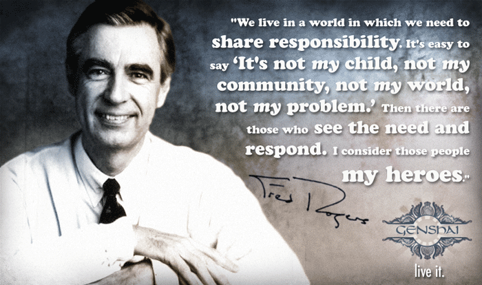 Mr Rogers Motivation