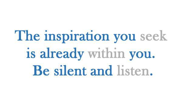 Silent Inspiration