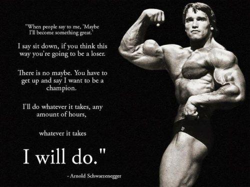 I Will Win - Arnold