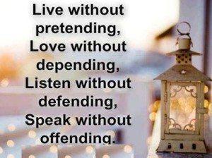 Live Without Detachments