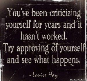 Self Critic - Louise Hay