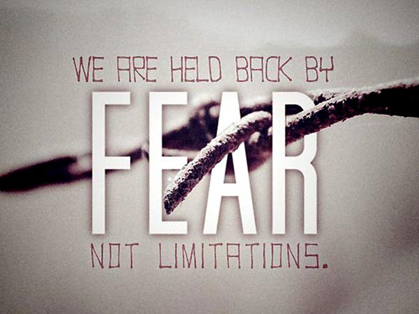 Fear Holds Me Back