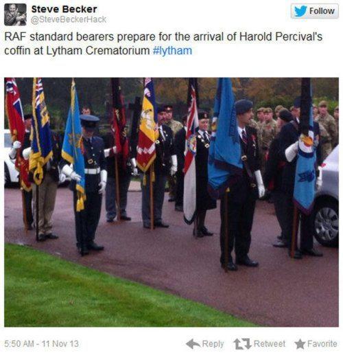 Harold Percival Funeral Respect