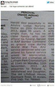 Obituary Percival