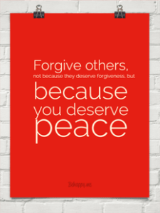 Forgiveness Is Important