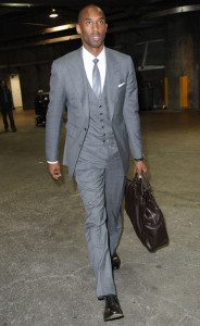 Kobe Bryant Business Suit