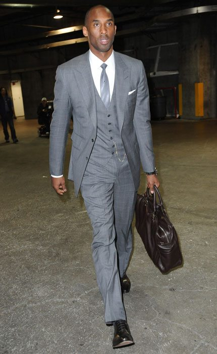 Kobe Bryant Business Suit