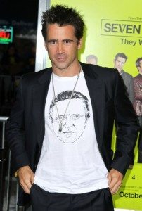 Colin Farrell Doesn't Drink