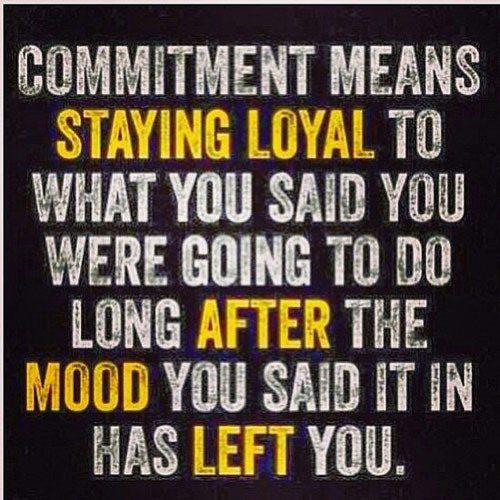 Committ To It