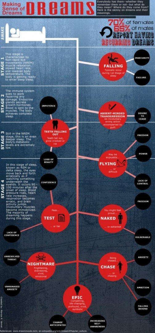 Dream and Sleep Infographic