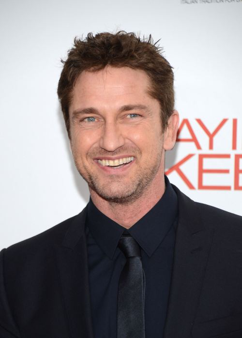Gerard Butler Doesn't Drink