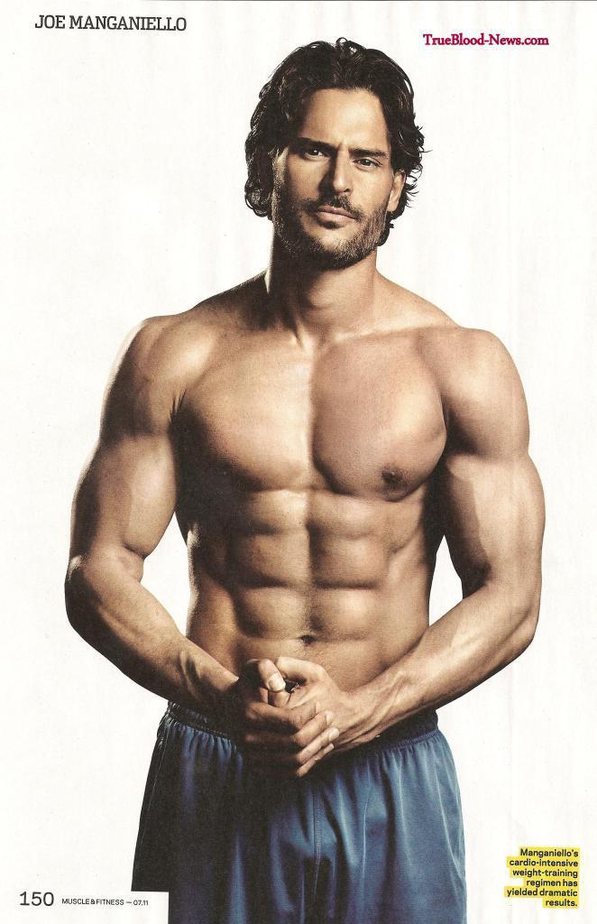 Joe Manganiello Doesn't Drink