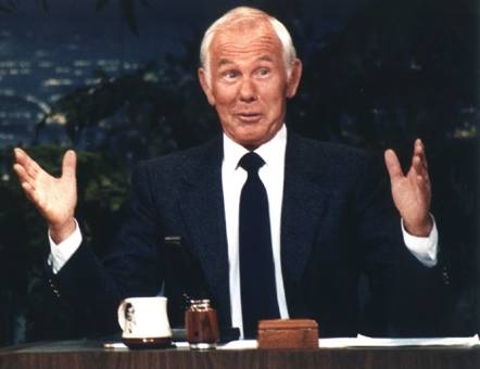 Johnny Carson Doesn't Drink