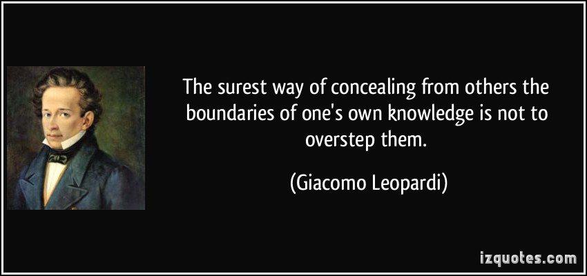 Overstepping Boundaries