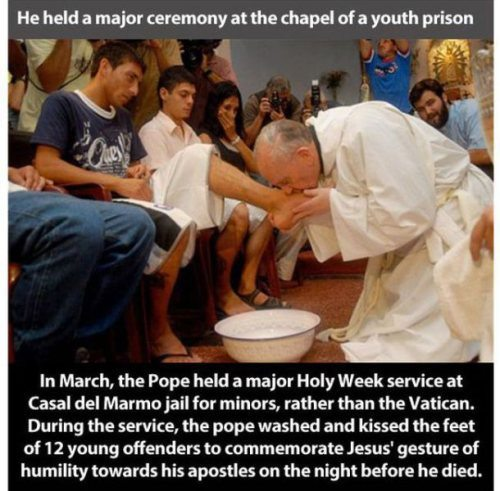 Pope Francis Forgives
