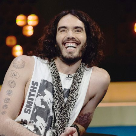 Russell Brand Doesn't Drank