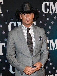 Tim McGraw Doesn't Drink
