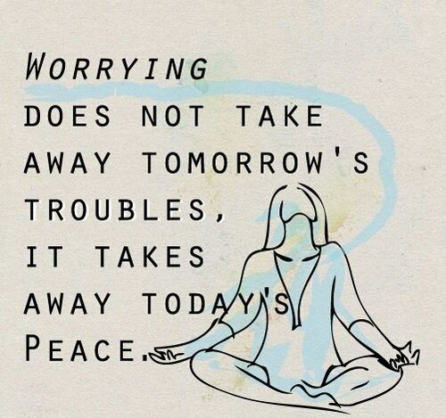 Stop Worrying Fast