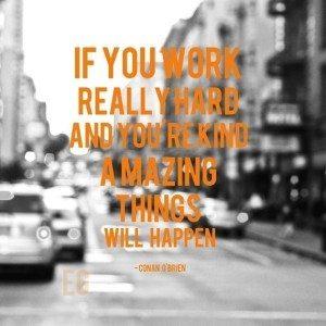 Amazing hard work