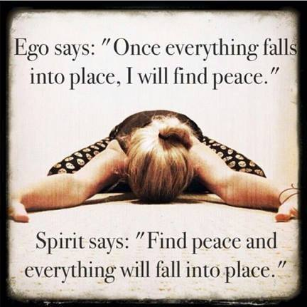 Find your peace right