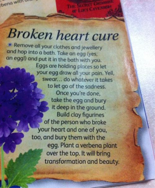 Broken Heart Cure