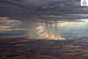 Rainy Weather Ocean Storm