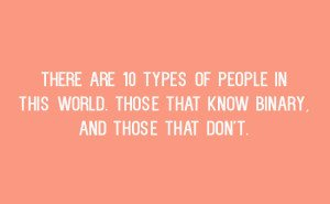 10 types of people