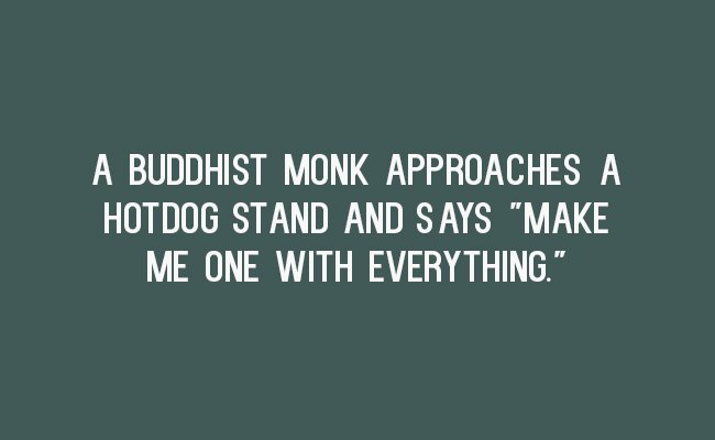 Buddhist Monk Funny
