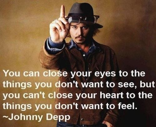 Johnny Dep Quote