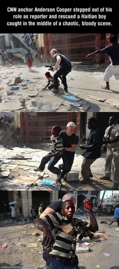 News Anchor Saves a life