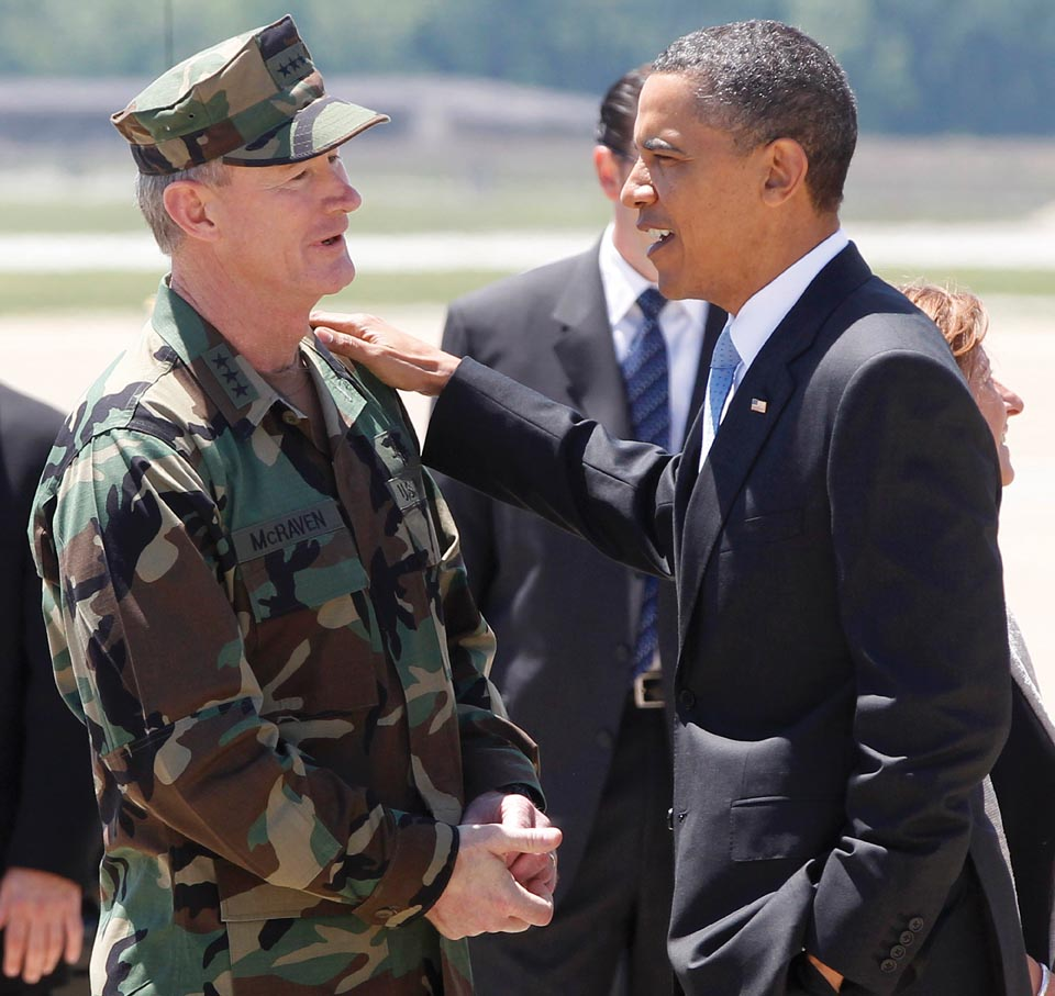 Barack Obama, William McRaven