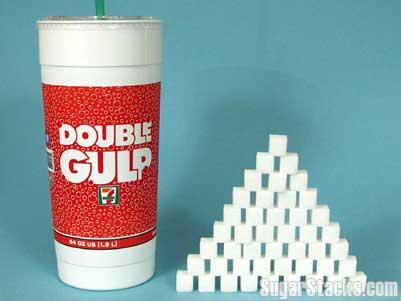 Big Gulp Sugar Content