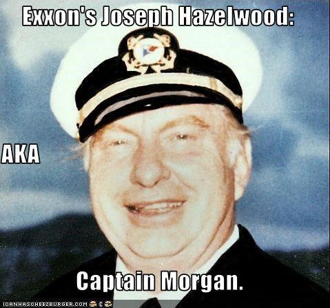 Exxon crash captain