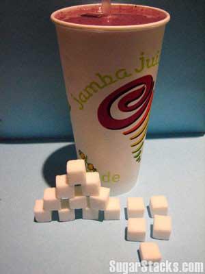 Jamba Juice Sugar Content