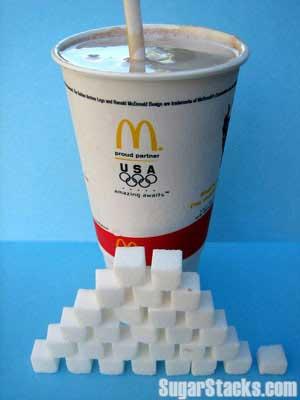 Mcdonalds Milk Shake Sugar Content