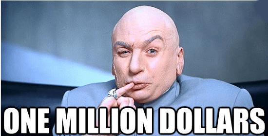 Million dollar Loss