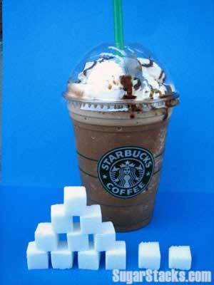 Starbucks Mocha Frap Sugar Content