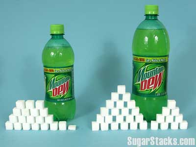 Mountain Dew Sugar Content