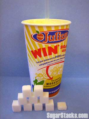 Orange Julius Sugar Content