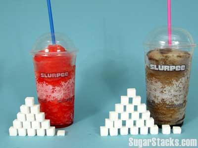 Slurpee Sugar Content