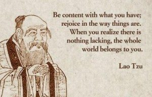 Be Content In Life